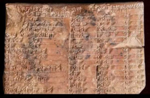 tablet-300x195 Greeks Busted In Brazen Trigonometry Scam By 3700 Year Old Clay Tablet